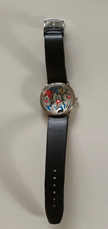 Animaniacs Watch Warner Brothers Collection New Battery Wristwatch