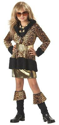 Runway Diva Leopard Rock Star Super Model Child Costume - Kid Rock Star Costume
