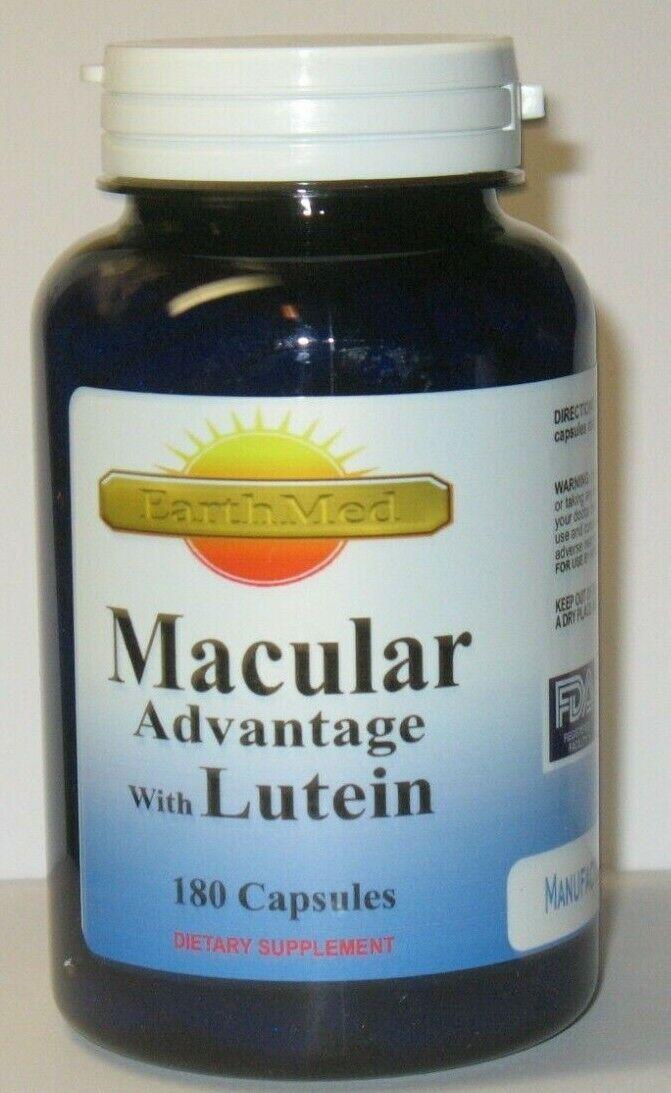 Macular Eye Care W/40mg Lutein, L-Glutathione, Billberry, +