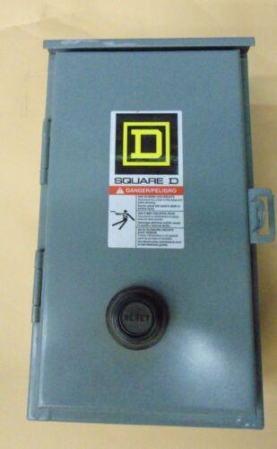 SQUARE D 8536SBA2V02S  Magnetic motor starter Schneider Electric Enclosed