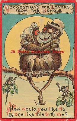 Suggestions for Lovers from the Jungle, Kaplan No 56, Monkeys
