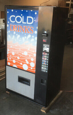 Soda Vending Machine Vendo V480 8 Selection Multi-price Approved For Outdoor.