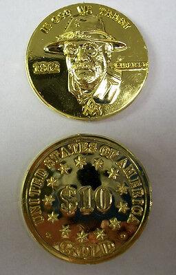 Masonic gold token, Lot of 2