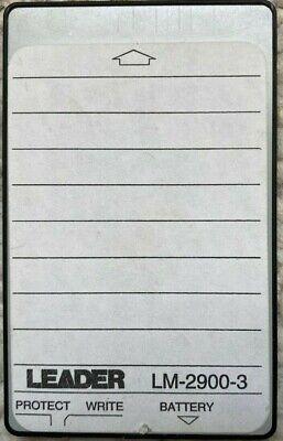 Ram Memory Card Lm-2900-3 For Dmm 2-channel Oscilloscope Model Leader 300