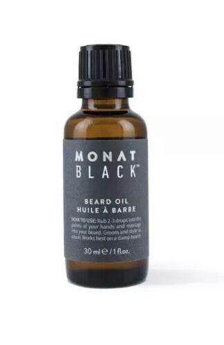 Monat Black ~ Beard Grooming Oil ~ 1 oz. **Free Shipping** N