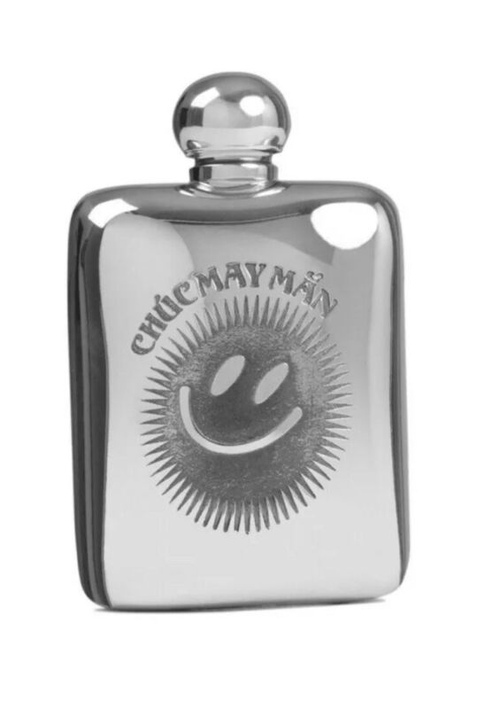 Rapha Limited Edition Outskirts Hip Flask Silver BNWT One Size
