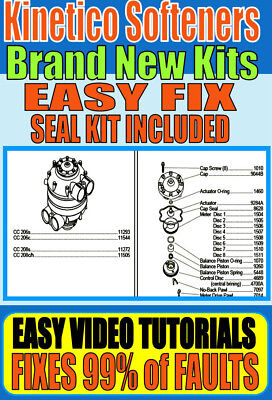 Kinetico Water Softener - Repairs - Parts - Rebuild Kits - Fixes Every Model
