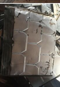Metal shingles