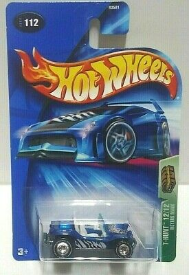 2004 Hot Wheels Treasure Hunt Meyers Manx Real Riders! w/Protector Pack