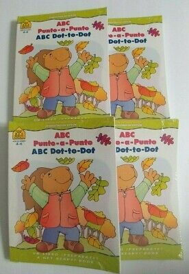 - Bilingual Workbook ABC Dot to Dot School Zone in English and Spanish