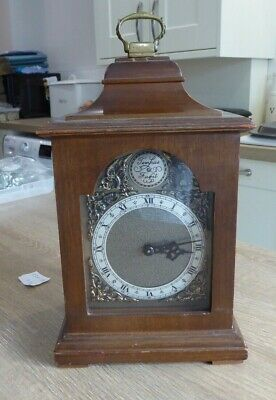 SUPERB QUALITY ENGLISH BRACKET / MANTLE CLOCK BY ROTHERHAM OF COVENTRY