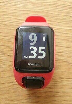 TomTom Runner 3 GPS Running Watch Red medium