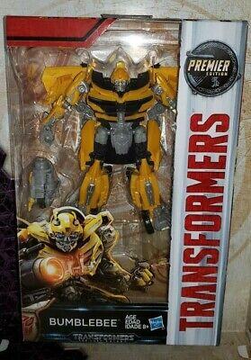 Transformers 5 The Last Knight BUMBLEBEE Deluxe Premier Hasbro Movie Camaro TLK