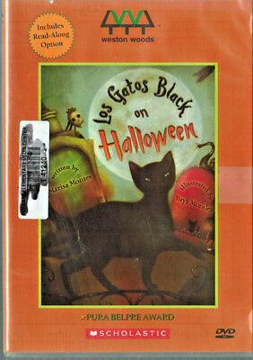 Los Gatos Black on Halloween by Marissa Montes + 2 bonus children's films (DVD) - Films On Halloween