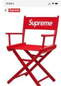 Supreme Directors Chair