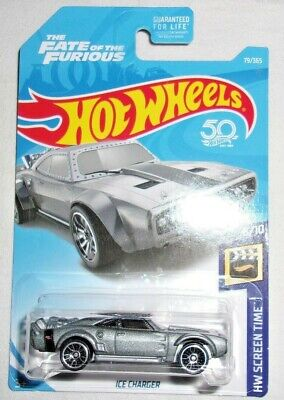 Hot Wheels Ice Charger Fast & Furious #079 HW Screen Time #2 of #10 Silver HTF!