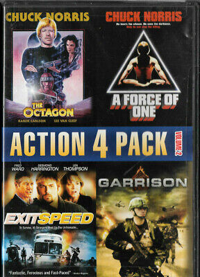 The Octagon /A Force Of One /Exitspeed /Garrison (DVD) Chuck