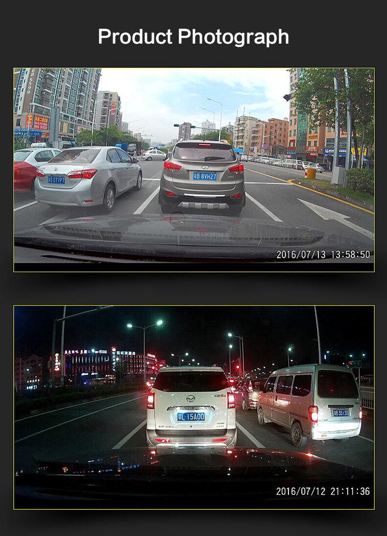 FHD 1080P Hidden Wifi Car SUV DVR Dash Video Recorder Dual Lens Camera GSensor