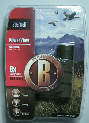 New Bushnell PowerView 8x21mm Compact Folding Roof Prism Binocular