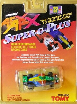 1996 AFX TOMY Super G+ INDY F1 CART 7-UP HO Slot Car 8774 GORGEOUS DECO! FastCar for sale  Shipping to Canada