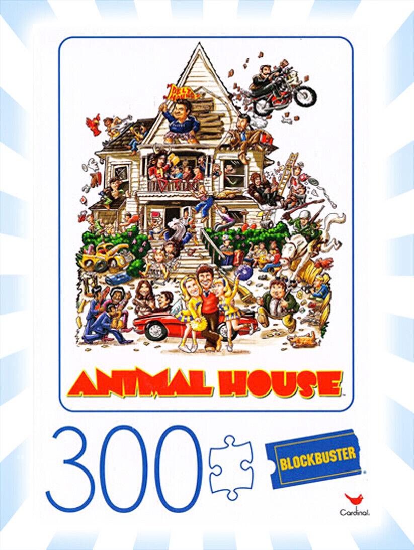 Blockbuster Animal House Movie Poster 300 Piece Jigsaw Puzzl