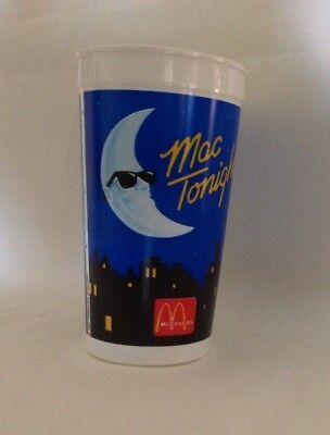 MINT, BRAND NEW, McDonald's Mac Tonight 32 Ounce Plastic Cup