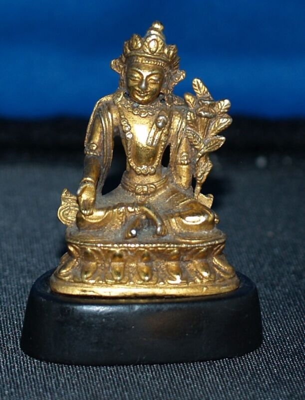 ANTIQUE CHINESE TRAVELING BUDDHA 19TH CENTURY OR EARLIER