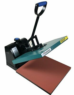 Ephotoinc 15 X 15 Digital Clamshell Heat Press Transfer T-shirt Sublimation P...