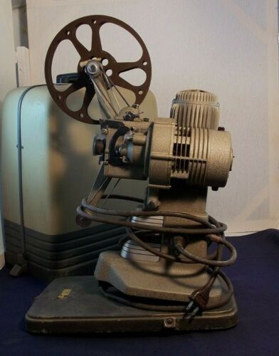 Bell & Howell 16mm 273 Model A Movie Projector In Case by Original Owner WORKS!
