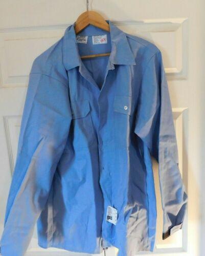 Steel Grip Made in USA Shirt Welding Aluminium Splash Resistant Blue Extra Large