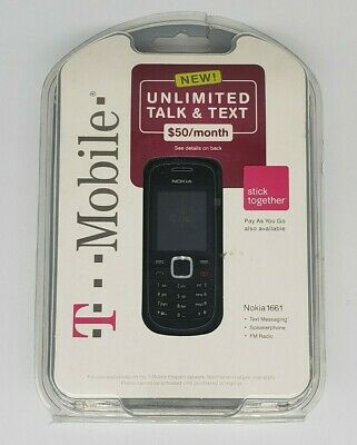Nokia 1661 - Black (T-Mobile) Cellular Phone - Open Box!