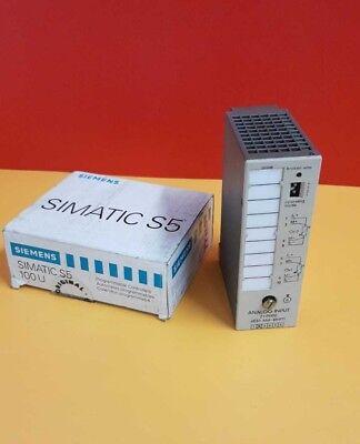 Siemens SIMATIC S5 6ES5 464-8MF11 ANALOG MODULE 6ES5464-8MF11