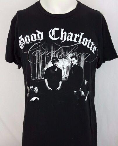 Good Charlotte Cardiology World Tour 2011 Black Concert Rock Shirt Size M