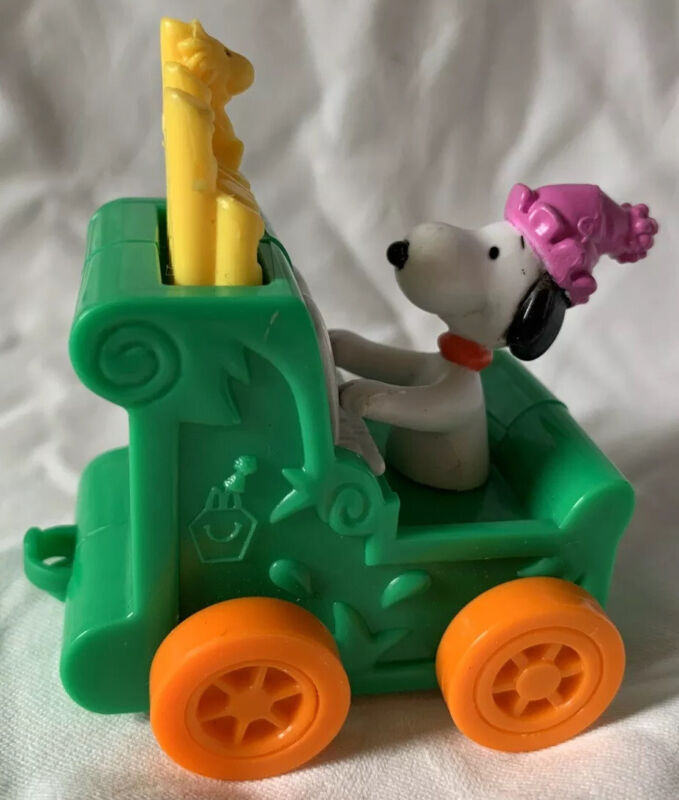 Snoopy with Train peanuts collectible figure