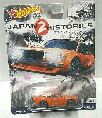 2018 Hot Wheels Japan Historics 2 Mazda RX-3 Real Riders! Car Culture