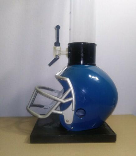 TENFOLD FOOTBALL HELMET Beer Tubes Barrel Beverage Tower Dispenser Tap MAN CAVE