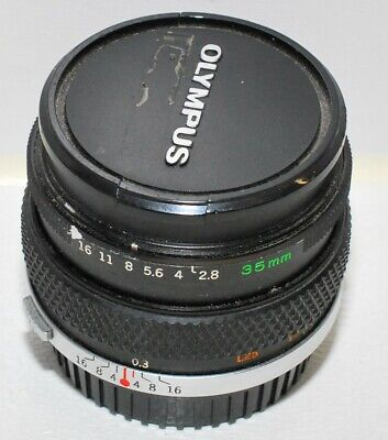 Olympus OM 35mm f/2,8; nur Anwender, users only.