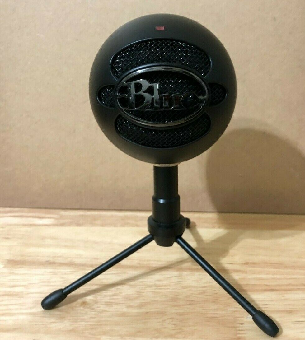 Blue Microphones Snowball Ice Condenser Microphone With Tripod Stand - Black - $30.00
