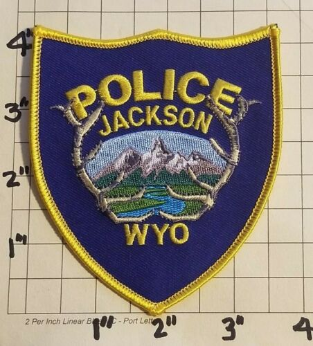 Jackson (WY) Police Department Patch     ***NEW***
