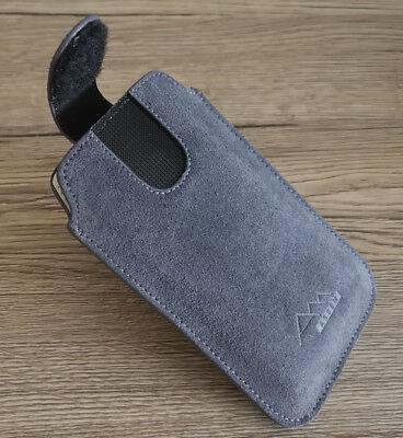 ASSEM Asus ZenFone 7 / 7 Pro echt leder Handy Gürtel Tasche Hülle Etui case