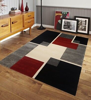 Courtyard Rugs for Bedroom Dining Living Room Modern Multi Color Space Geometric 8x10