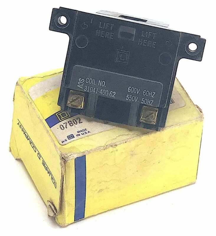 Square D 31041-400-62 600V Magnet Coil For Size 0 Motor Starter