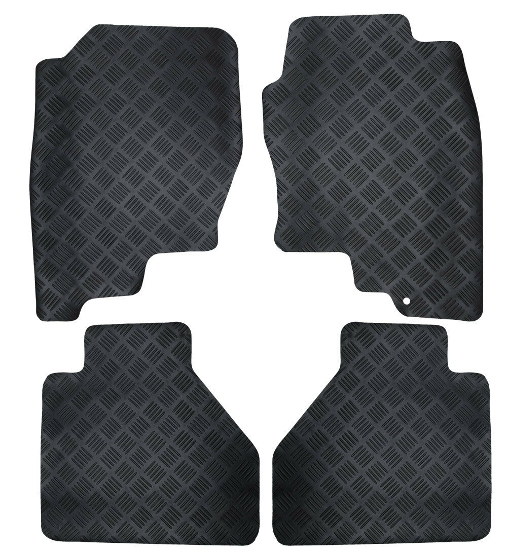 Rubber car floor mats uk - Perfect Fit Black Durable Rubber Car Floor Mats To Fit Jeep Grand Cherokee 05 10 12 12 Of 12 See More