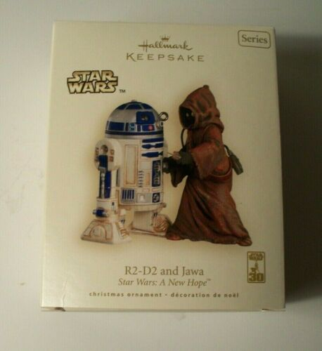 2007 Hallmark Keepsake Ornament - R2-D2 and Jawa Star Wars A New Hope