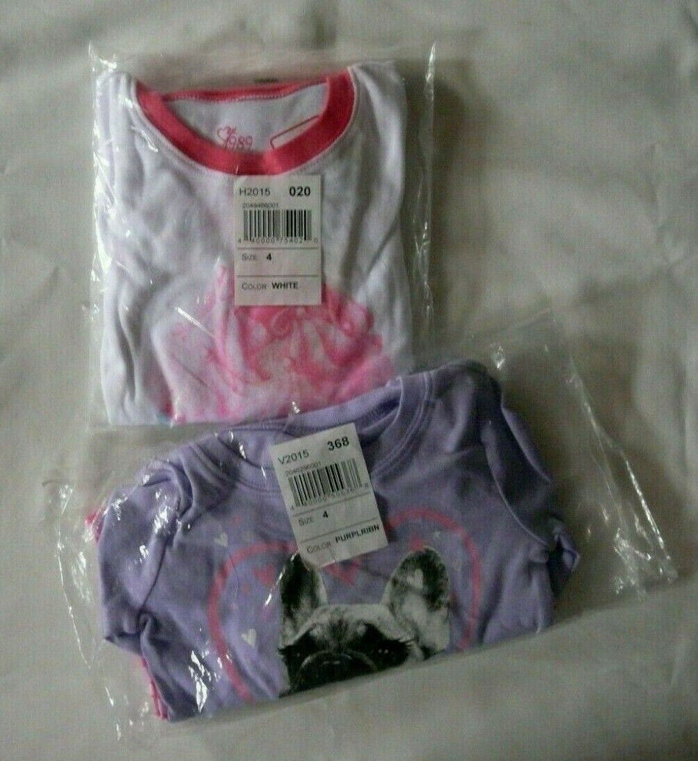 *2PACKS* TCP 2PC CUPCAKE & DOG GIRL PAJAMAS COTTON TOP PANTS