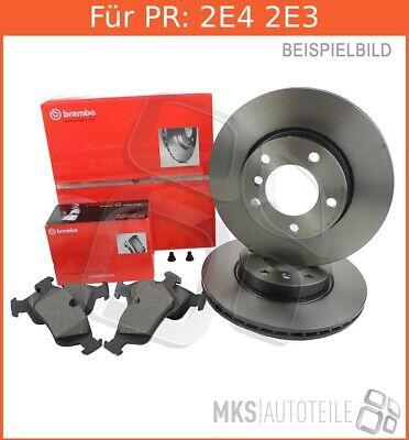 Bremsbeläge Vorne Brembo2 Bremsscheiben COATED DISC LINE Belüftet Ø 333 mm