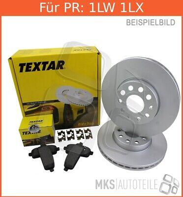 ATE Powerdisc Bremsscheiben 7M8, 7M9, 7M Beläge Vorderachse VA für VW SHARAN