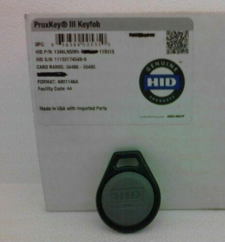 One HID Proximity 1346LNSMN ProxKey III Access control KeyFob