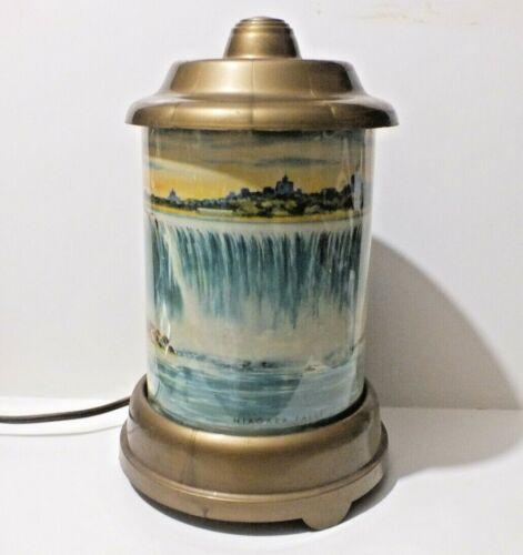 Vintage Gift Lines NiagaraFalls Motion TV Lamp