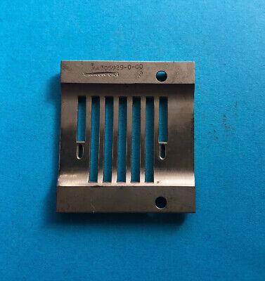 Used 305929-0-00-rimoldi Throat Plate-free Shipping